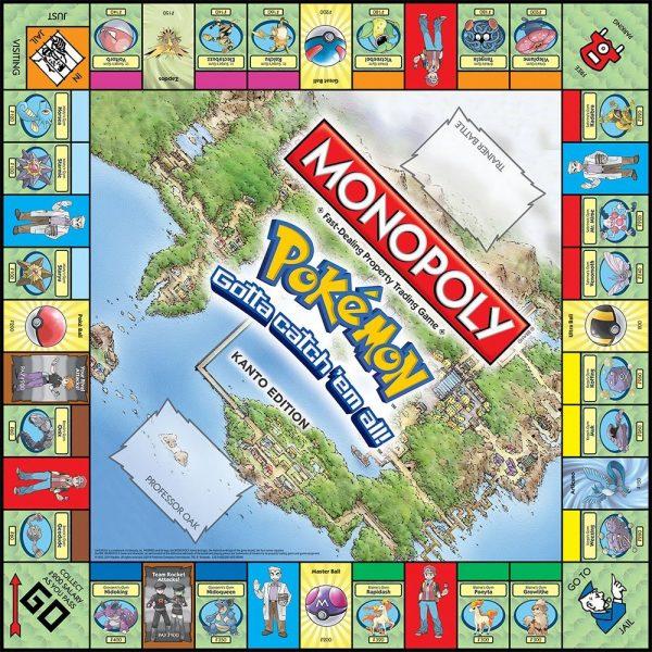 Monopoly Pokemon Kanto Edition
