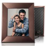 Nixplay Iris Wi-Fi Cloud Picture Frame Burnished Bronze