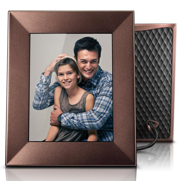 Nixplay Iris Wi-Fi Cloud Picture Frame Burnished Bronze
