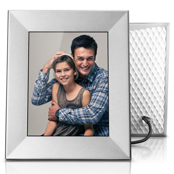 Nixplay Iris Wi-Fi Cloud Picture Frame Silver