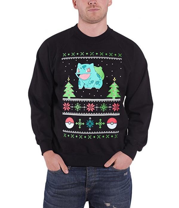Pokemon Bulbasaur Ugly Christmas Sweater