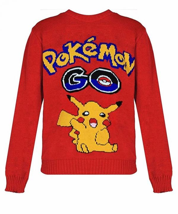 Pokemon Go Ugly Christmas Sweater