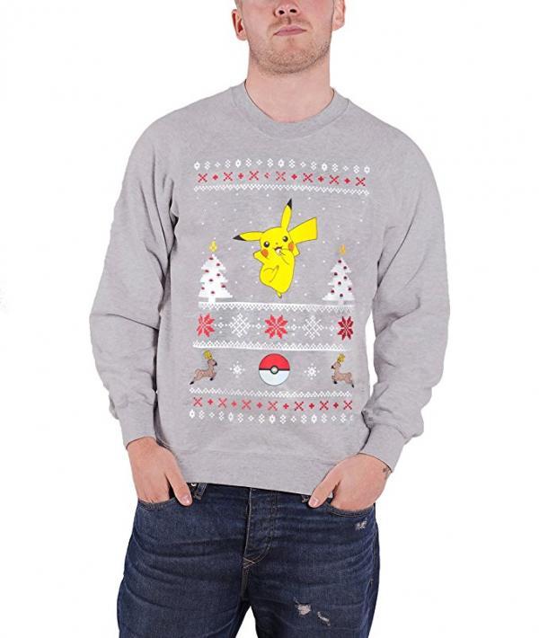 Pokemon Holiday Pikachu Ugly Christmas Sweater