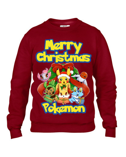 Pokemon 'Merry Christmas' Ugly Sweater