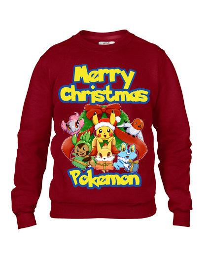 Pokemon 'Merry Christmas' Ugly Sweater