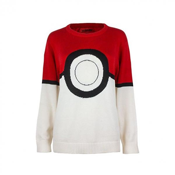 Pokemon Pokeball Ugly Christmas Sweater