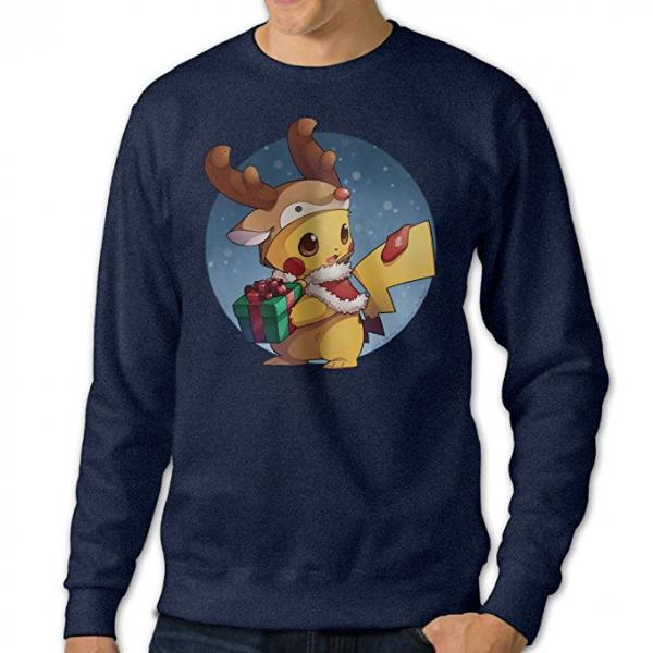 Pokemon Reindeer Pikachu Ugly Christmas Sweater