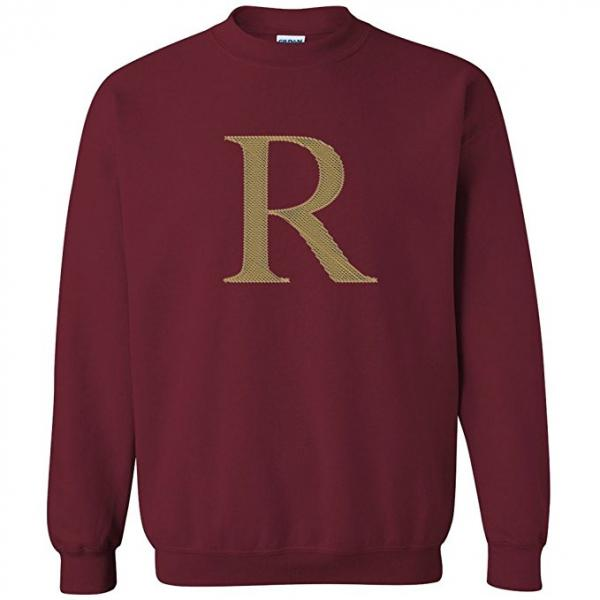 R Crewneck Sweater Team Weasley Gift
