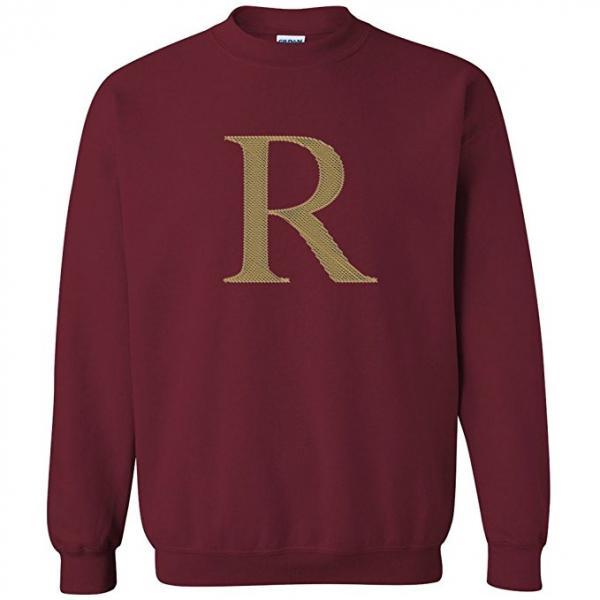 R Crewneck Sweater Team Weasley Gift