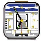R2-D2 Star Wars Clock