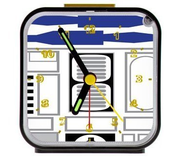 R2-D2 Star Wars Clock
