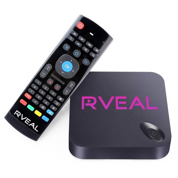Rveal Streaming Media Player & Android TV Box With Kodi