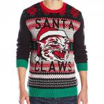 Santa Claws ugly Christmas Sweater