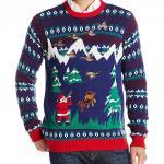 Santa Duck Hunter ugly Christmas Sweater