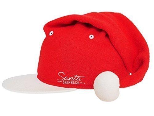 Snapback Santa Hat