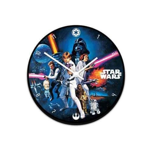 Star Wars Art Wood Wall Clock