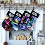 Star Wars Christmas Stockings Yoda Darth Vader Boba Fett