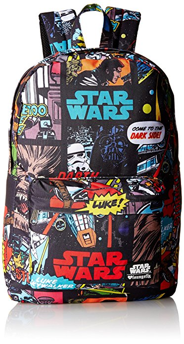 Star Wars Comic Book Panel Backpack