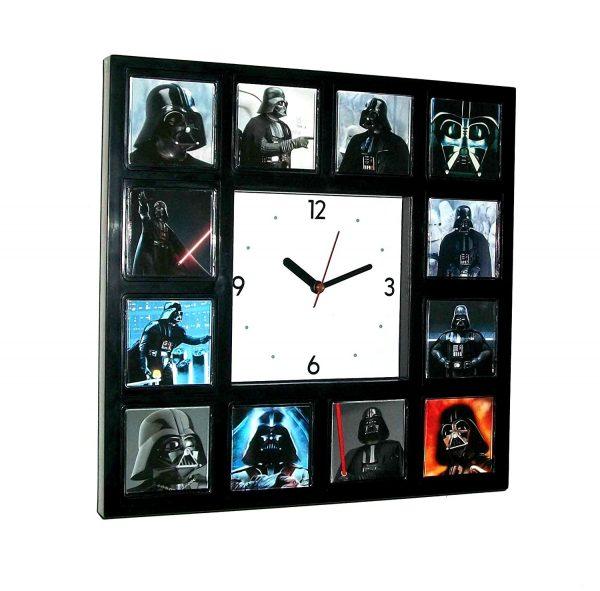 Star Wars Darth Vader Faces Clock