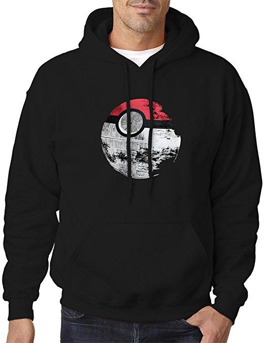 Star Wars Death Star Pokeball Hoodie Sweatshirt