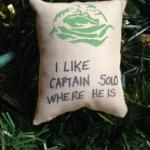Star Wars Jabba the Hutt Quote Christmas Tree Ornament