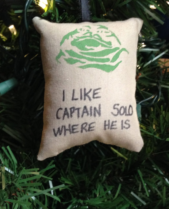 Star Wars Jabba the Hutt Quote Christmas Tree Ornament