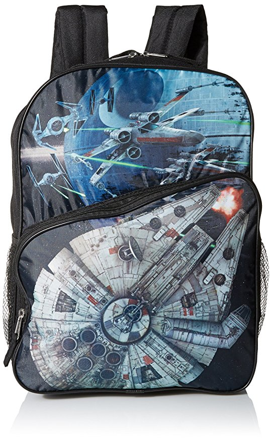 Star Wars Millennium Falcon, X-Wing & Death Star Backpack