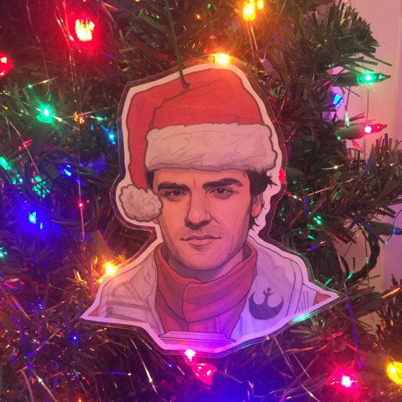 Star Wars Poe Dameron Christmas Tree Ornament