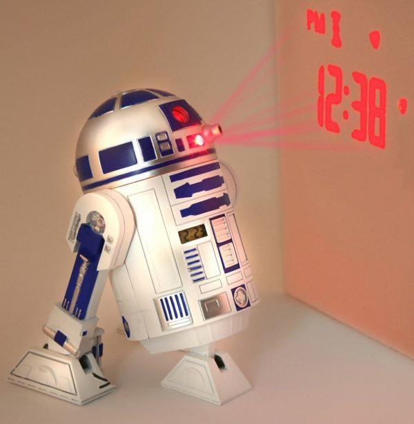 Star Wars R2-D2 LED Alarm Clock