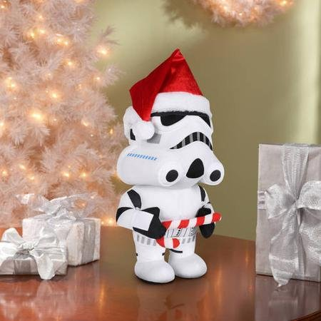 Star Wars Stormtrooper Christmas Plush Greeter