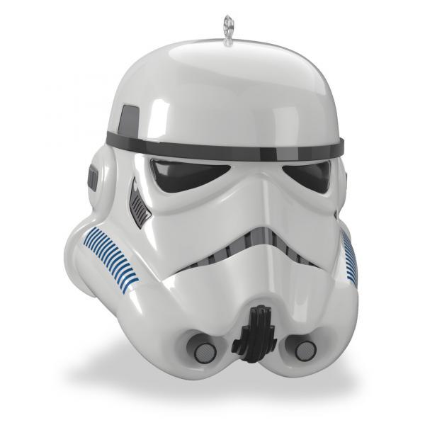 Star Wars Stormtrooper Helmet Christmas Tree Ornament
