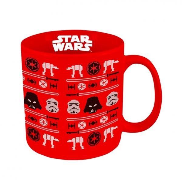 Star Wars Ugly Sweater Holiday Ceramic Mug