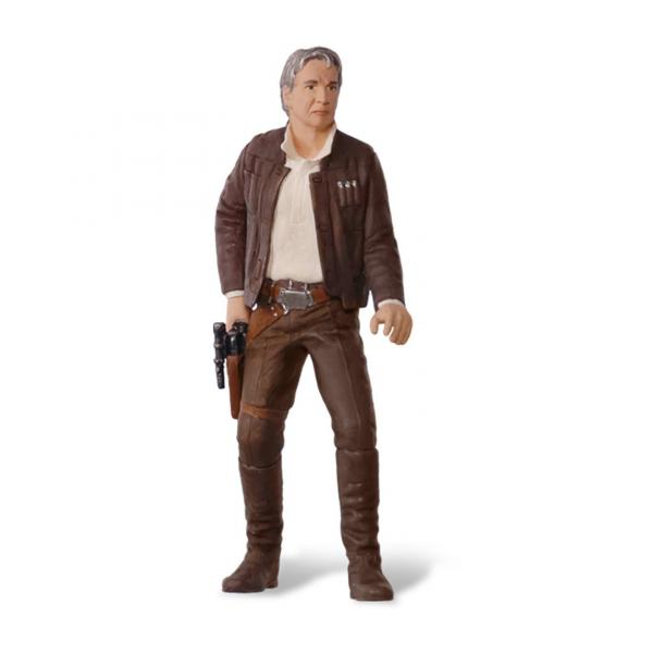 Star Wars the Force Awakens Old Han Solo Christmas Tree Ornament
