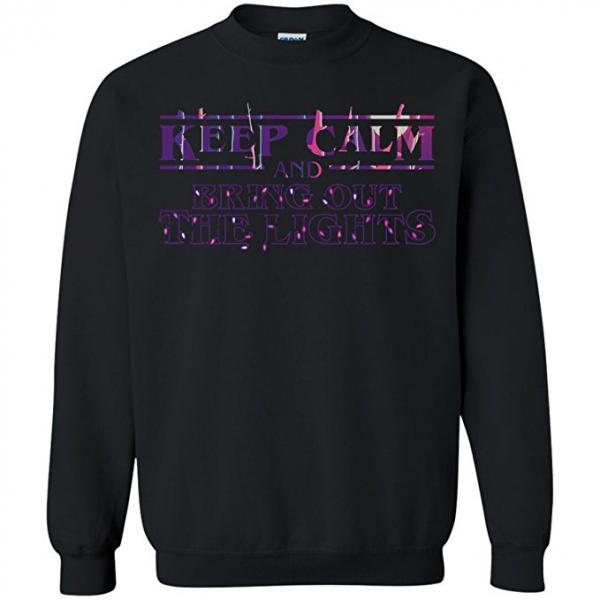 Stranger Things Keep Calm Christmas Sweater