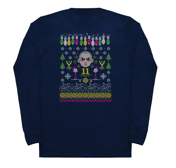 Stranger Things Pissed Off Eleven Ugly Christmas Sweater