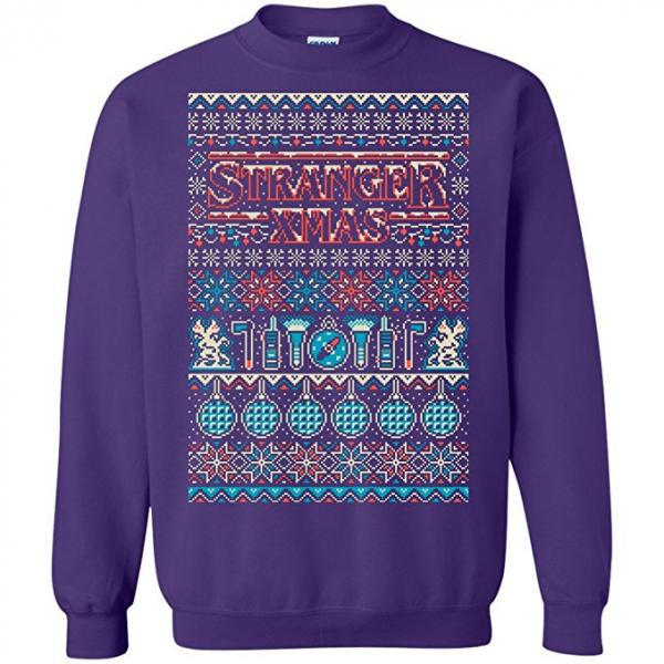 Stranger Things Xmas Ugly Christmas Sweater