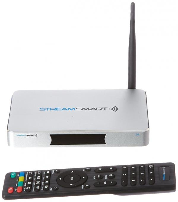 Stream Smart S4 TV Box With Kodi