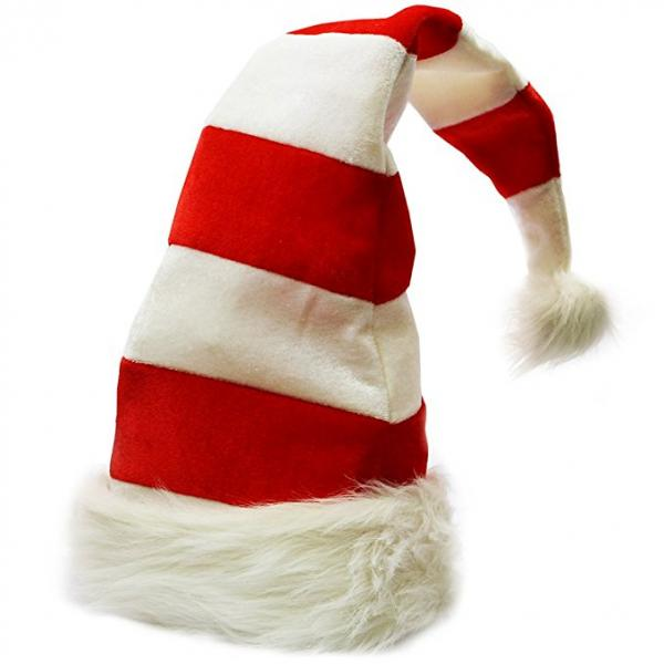 Stripes Santa Hat
