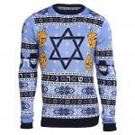 Stylish Hanukkah Ugly Christmas Sweater