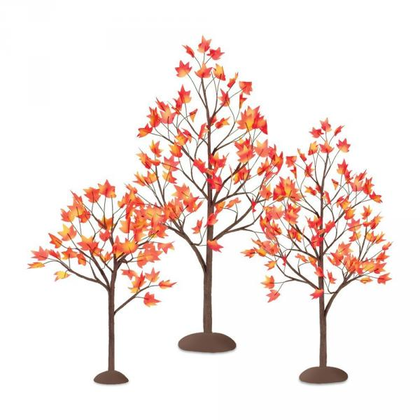 Thanksgiving Autumn Maple Tree Set