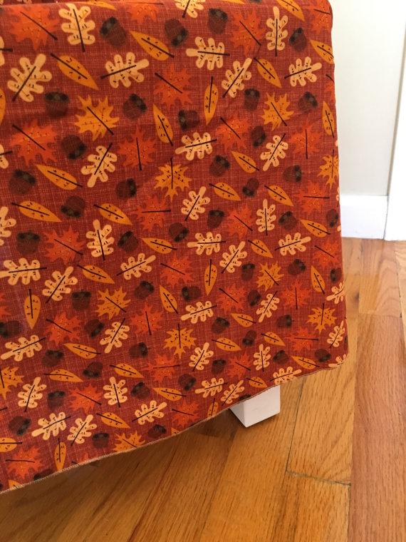 Thanksgiving Foliage Tablecloth