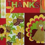 Thanksgiving Give Thanks Tablecloth