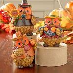 Thanksgiving Harvest Owls Set