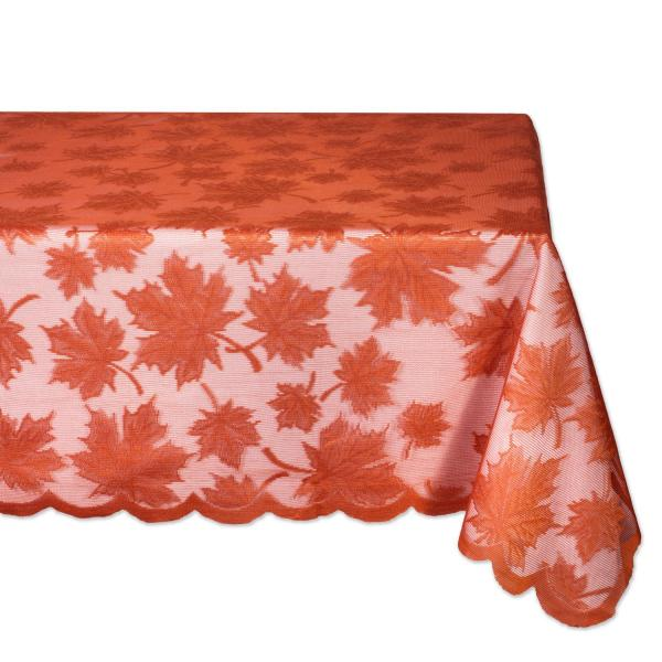 Thanksgiving Maple Leaf Lace Tablecloth