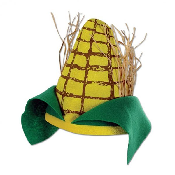 Thanksgiving Plush Corn Cob Hat