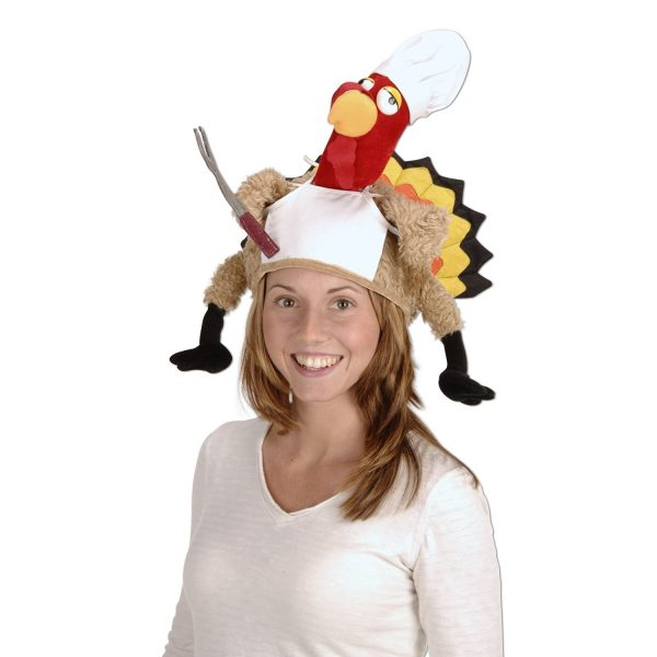 Thanksgiving Turkey Chef Hat