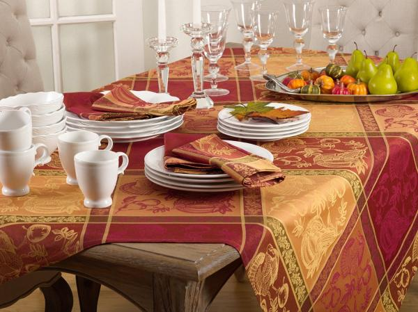 Thanksgiving Warm Feeling Tablecloth