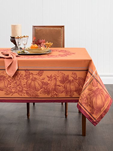 Thanksgiving Yarn Dyed Tablecloth