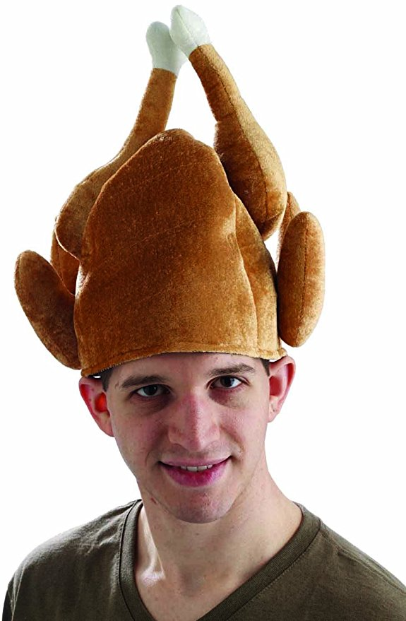 Thanksgiving roasted Turkey Hat