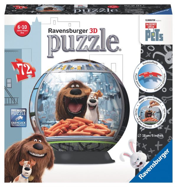 The Secret Life of Pets 3D Puzzle